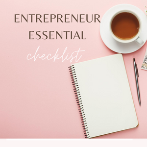 Entrepreneur's Essential Checklist with Video Guide