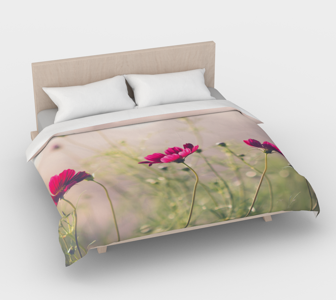 Dancing Cosmos - Duvet Bed Cover