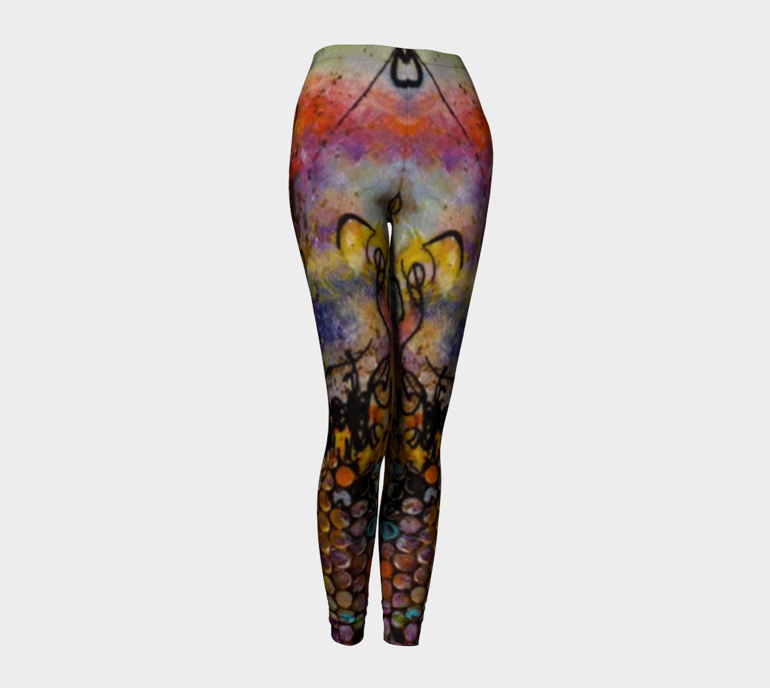 Delightful Dance B - Fashion Leggings