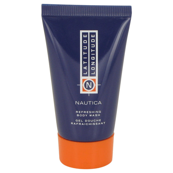 LATITUDE LONGITUDE by Nautica Body Wash Shower Gel 1 oz for Men