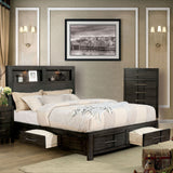 Karla - E.King Bed - Gray