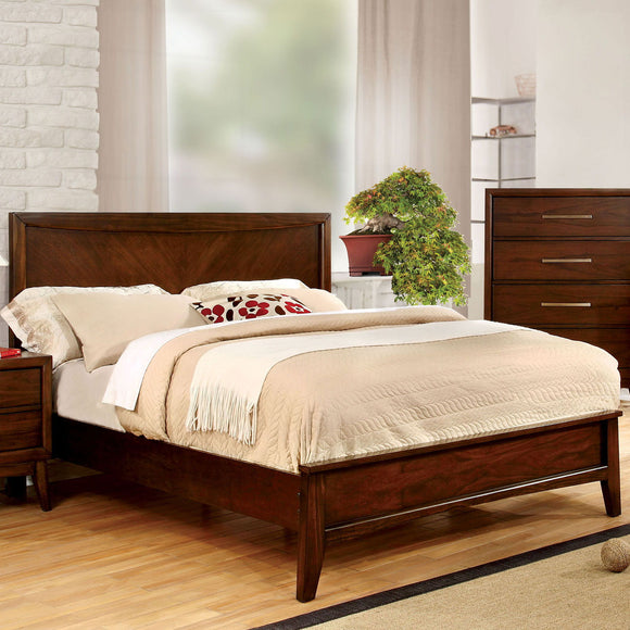 Snyder - Full Bed - Brown Cherry