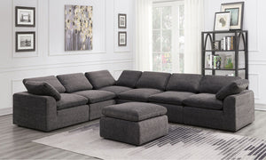 Joel - Sectional - Gray