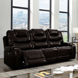 MARLEY - Power Sofa + Power Loveseat - Brown