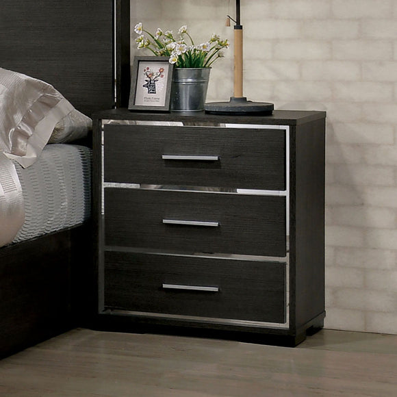 Camryn - Night Stand - Warm Gray