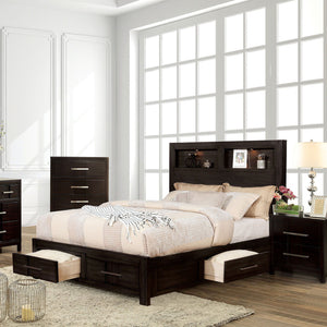 Karla - 5 Pc. Queen Bedroom Set w/ Chest - Espresso