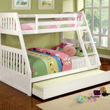 Canberra II - Twin/Twin Bunk Bed - White
