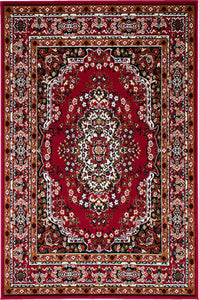 Shinta - 5' X 8' Area Rug - Red