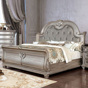 Fromberg - E.King Bed - Champagne