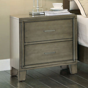 Enrico I - Night Stand - Gray