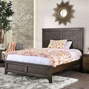Westhope - 5 Pc. Queen Bedroom Set w/ 2NS - Dark Walnut