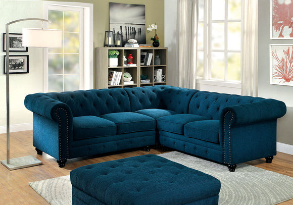 Stanford - Sectional - Dark Teal