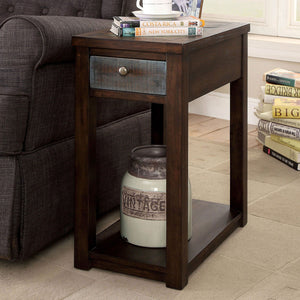 Geraldton - Side Table - Dark Oak/Multi