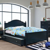 Diane - Twin Bed - Blue/Gray