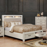Tywyn - Cal.King Bed - Antique White