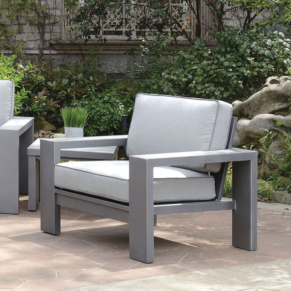 Ballyshannon - Arm Chair (2/CTN) - Gray
