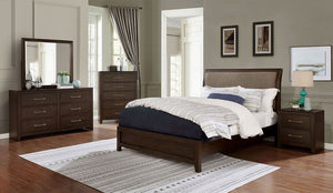 Jamie - Queen Bed + 1NS + Dresser + Mirror + Chest