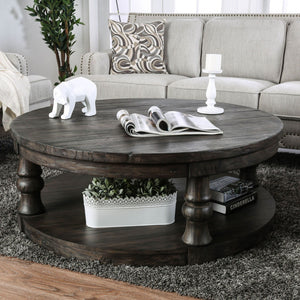 Mika - Coffee Table - Antique Gray