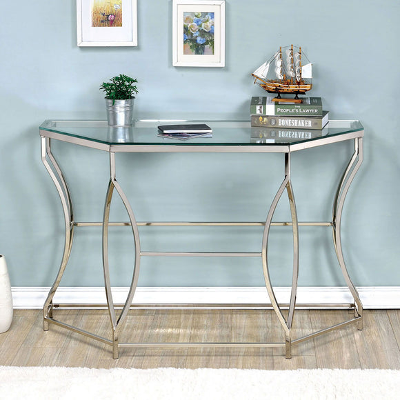 Zola - Sofa Table - Chrome