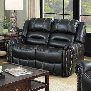 Frederick - Love Seat - Black