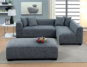 Jaylene - Sectional - Gray