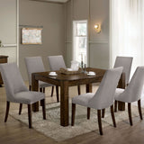 Mccall - 7 Pc. Dining Table Set - Walnut