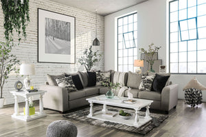 Barnett - Sectional - Gray