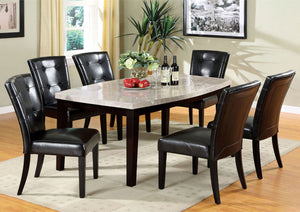 Marion I - 7 Pc. Dining Table Set - Espresso