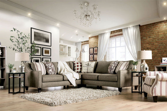 Fillmore - Sectional - Warm Gray
