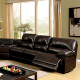 Glasgow - Sectional w/ Wedge Table - Brown