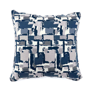"Concrit - 18"" X 18"" Pillow, Blue (2/ctn)"