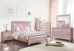Ariston - Queen Bed - Rose Pink