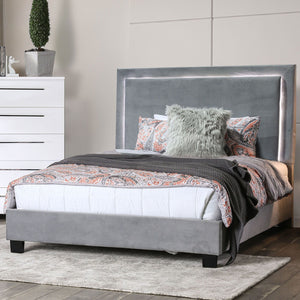Erglow I - 5 Pc. Queen Bedroom Set w/ Chest - Gray