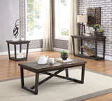 Sixten - Coffee Table - Dark Oak/Gray