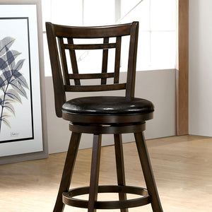 "Tolley - 24"" Barstool - Brown Cherry"