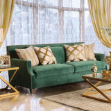 Verdante - Sofa + Love Seat - Emerald Green