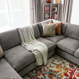 Ferndale - Sectional - Gray