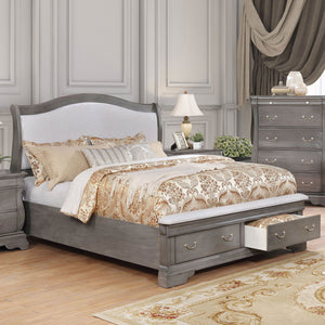 Merida - 5 Pc. Queen Bedroom Set w/ Chest - Gray