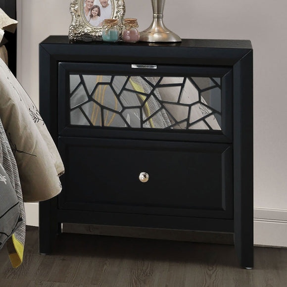 Kerri - Night Stand --- Not Available - Black