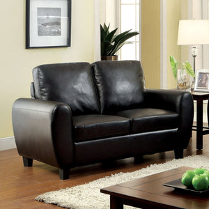 Hatton - Love Seat, Black
