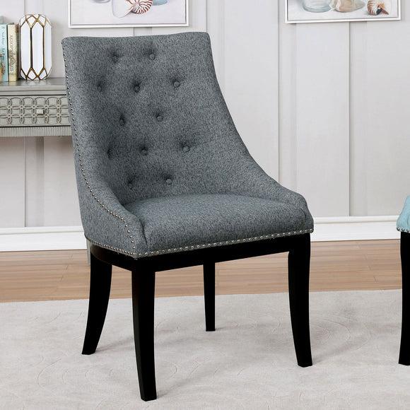 Joline - Accent Chair - Light Gray
