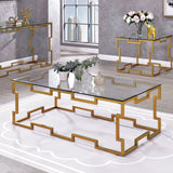 Josephine - Coffee Table - Gold