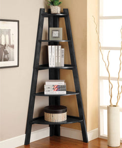 Lyss - Ladder Shelf - Black