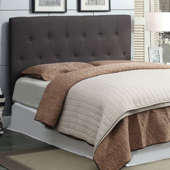 Leeroy II - Queen/full Headboard - Gray