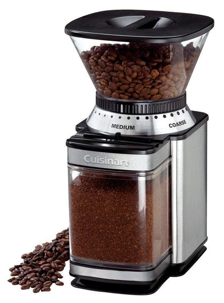 Cuisinart  Black/Silver  Stainless Steel  8 oz. Coffee Grinder