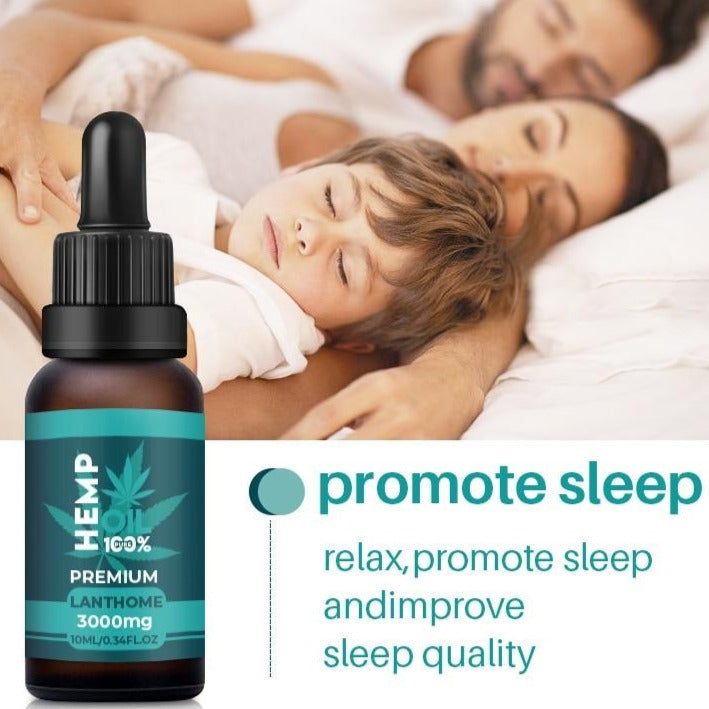 Natural Sleep Aid Anti Stress Hemp Oil