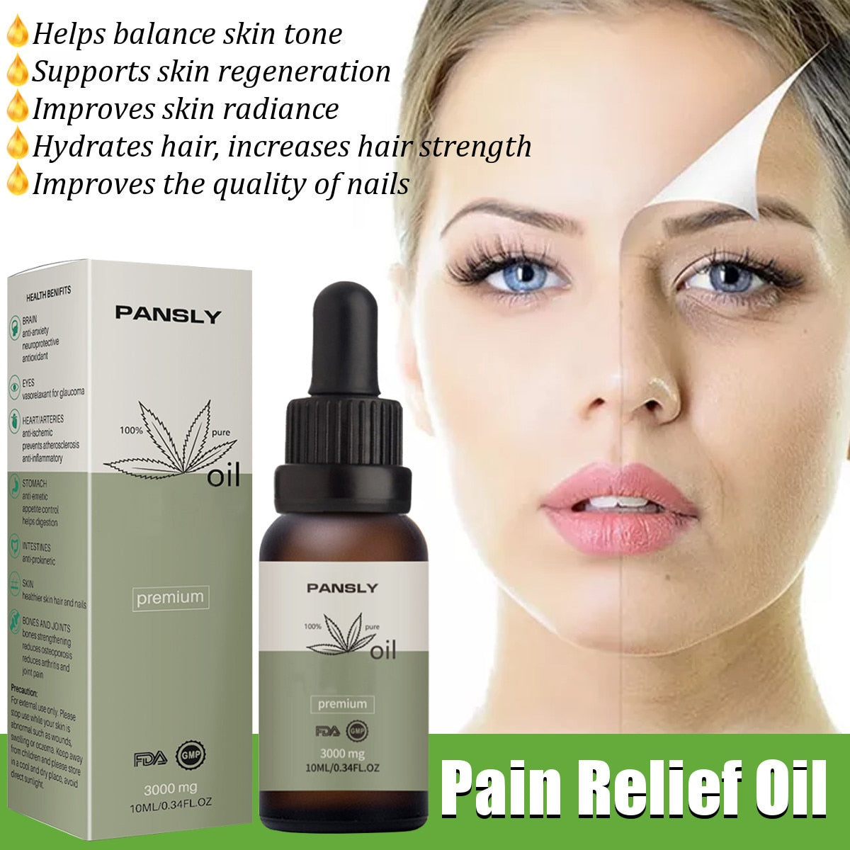Anxiety Relief Hemp Oil