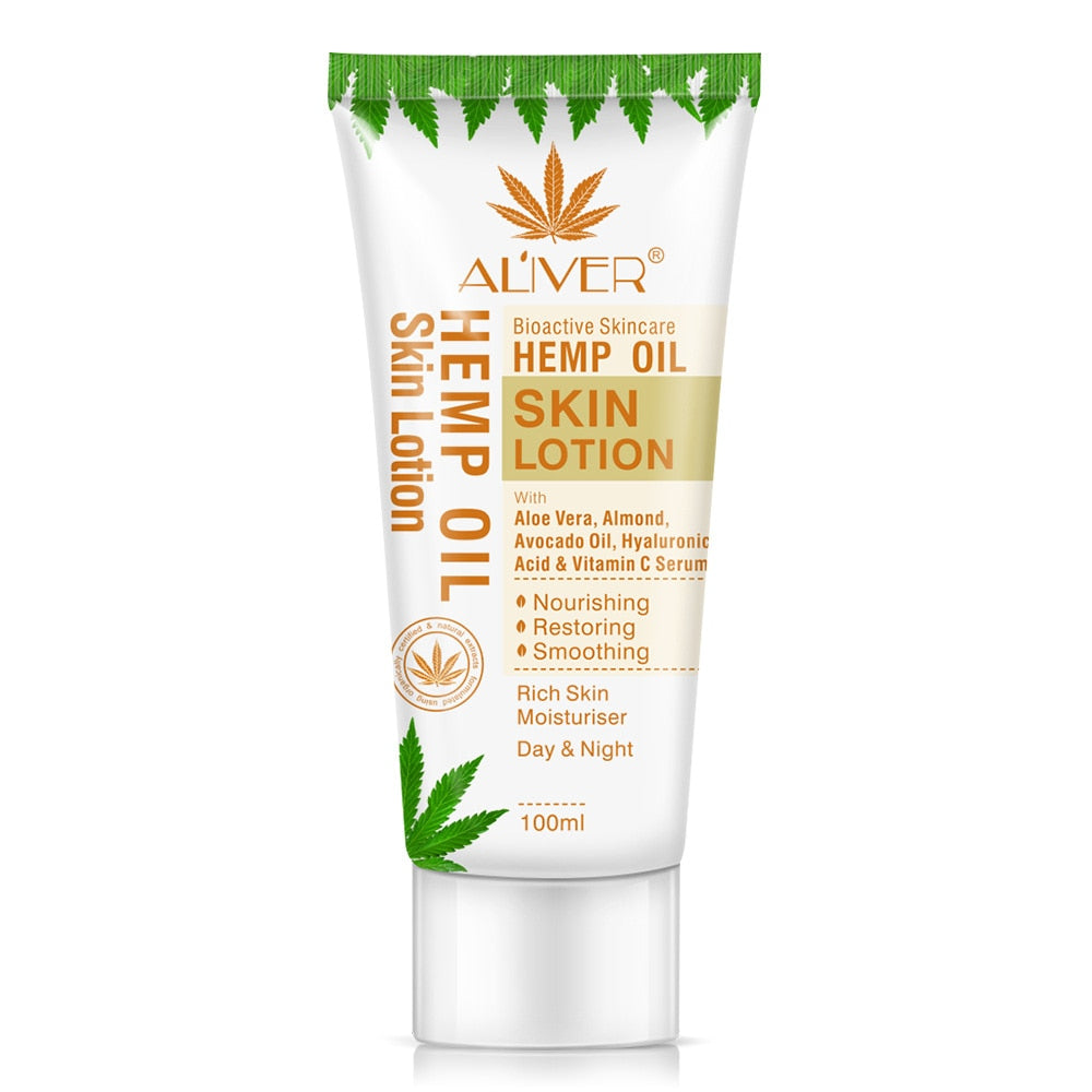 Hemp Oil Skin Lotion Bleaching