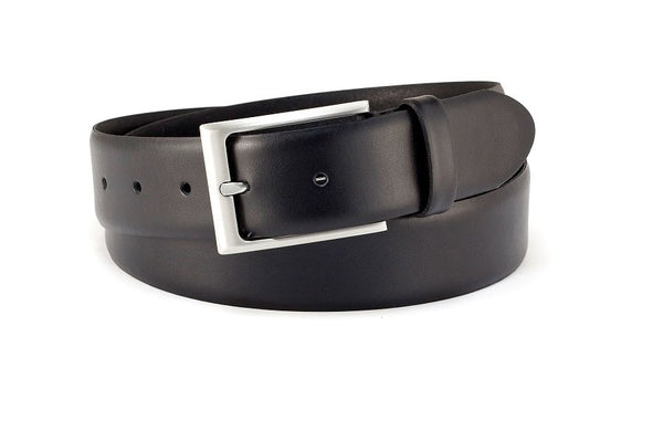 Polo leather dress belt