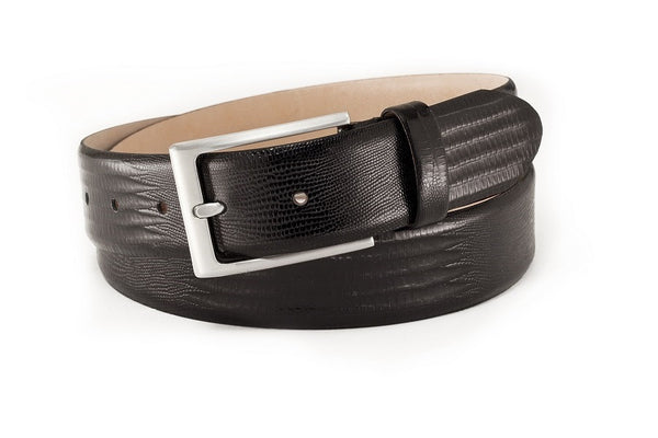 Calf Leather Reptil Belt